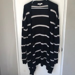 BB Dakota Striped Cardigan
